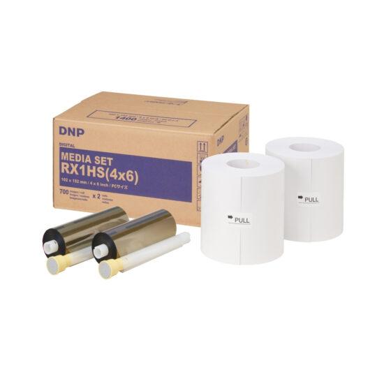 Papel Térmico DNP DS-RX1HS PC 10x15 1400 fotos