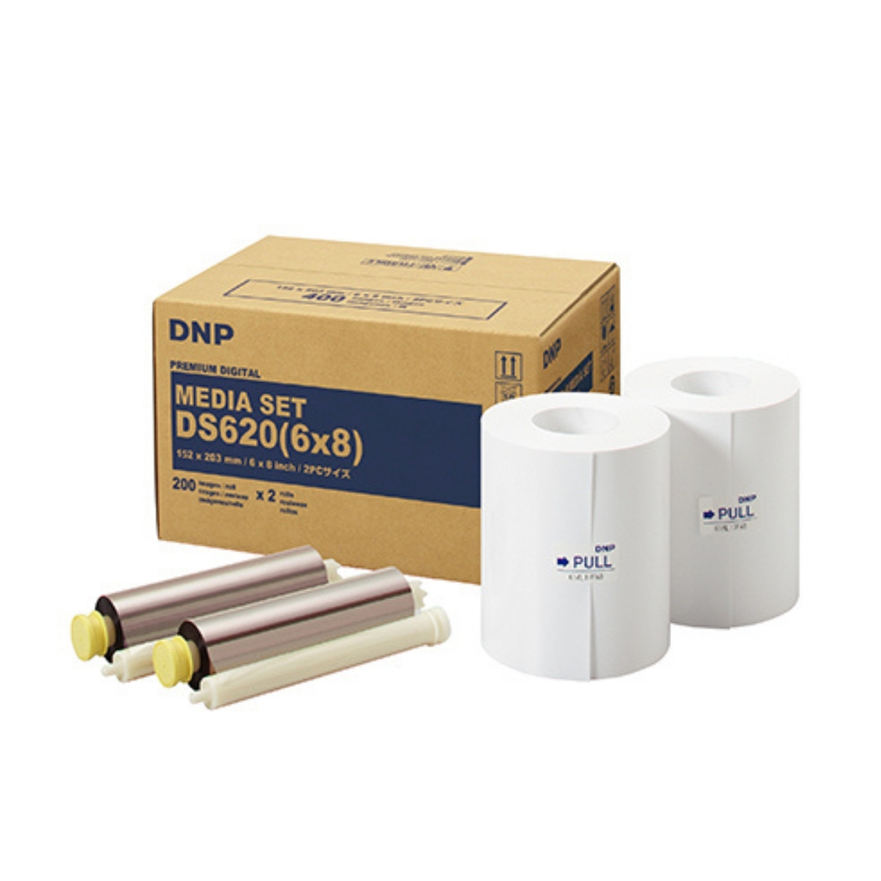 DNP Papel Térmico DS620 10x15 800 fotos 15x20 400 fotos