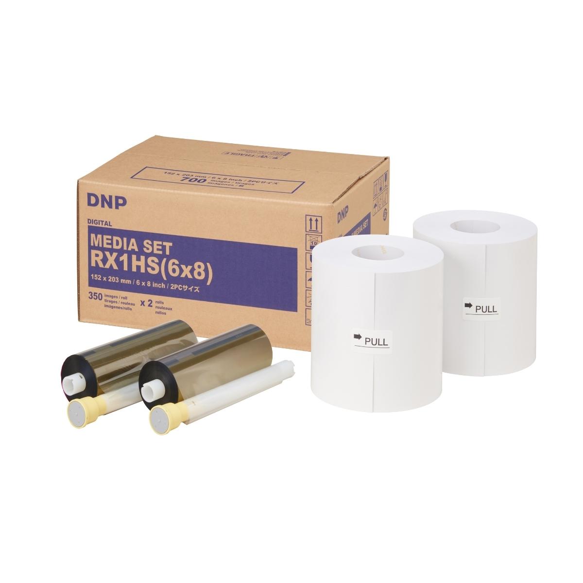 DNP Papel Térmico DS-RX1 HS A5 15x20700 fotos