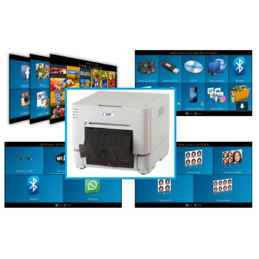 Impresora - DNP DS-RX1HS + Software de Kiosco y Foto carnet |