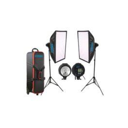 Iluminacion - Fotima Kit Flash Estudio 2x400W FTF-400 DX