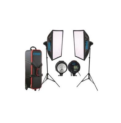 Iluminación Fotima Kit Flash Estudio 2x400W FTF-400 DX