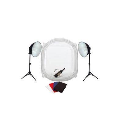Iluminación Fotima Kit Mini Estudio 60x60 + 2 Focos de 35W
