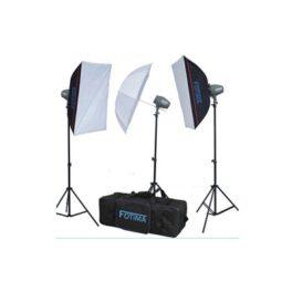 Iluminación Fotima Kit Flash Estudio 3x200W FTF-200