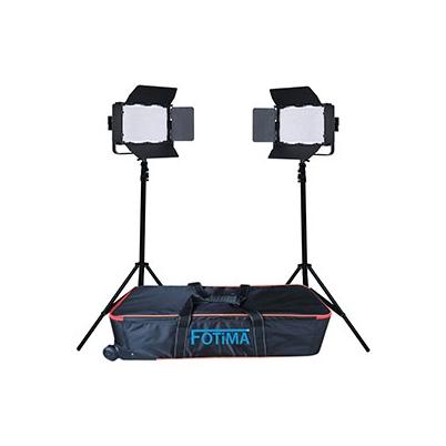 Iluminación Fotima Kit Led Estudio Profesional 2x1040 FTL-1040