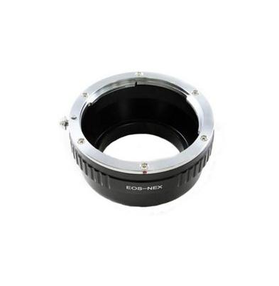 Adaptador Objetivo FTI Sony Nex-Canon EOS