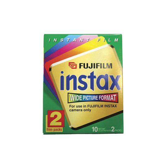 Película Instant Fuji Instax Wide Bipack (2x10 fotos)