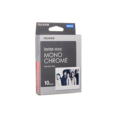 Película Instant Fuji Instax Mini B&W Monochrome WW 1 (1x10 fotos)