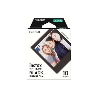Película Instant Fuji Instax Square Black Frame WW 1 (1x10 fotos)