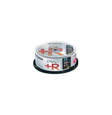 DVD+R 4,7Gb Data 16x Lata 25 u. Fuji