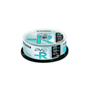 DVD-R 4,7Gb Data 16x Printable Inkjet Lata 25 u. Fuji | 4048242
