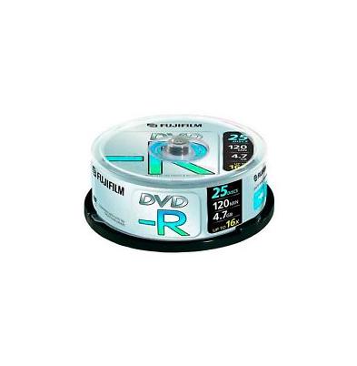 DVD-R 4,7Gb Data 16x Printable Inkjet Lata 25 u. Fuji