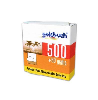Adhesivo en puntos Goldbuch doble cara 1 Rollo x 500 u.