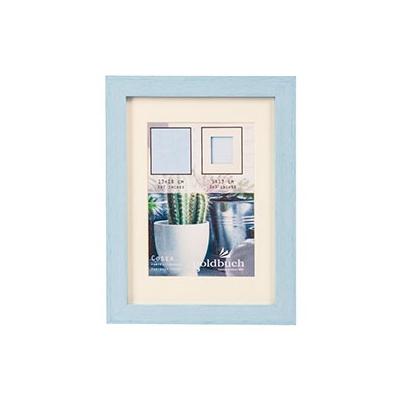 Marco Fotos Plastico - Goldbuch Mod. Cosea 13x18 cm Azul