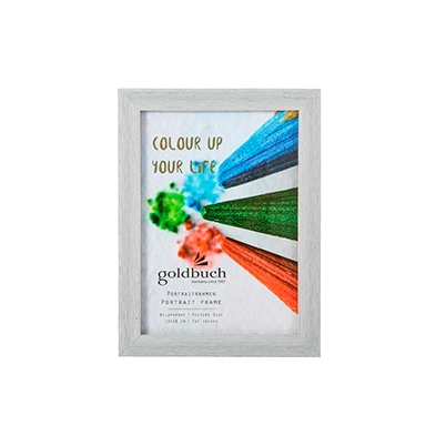 Marco Fotos Plástico Goldbuch Mod. Colour Up Your Life 13x18 cm Gris Claro