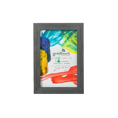 Marco Fotos Plastico - Goldbuch Mod. Colour Up Your Life 10x15 cm Gris Oscuro | 910802