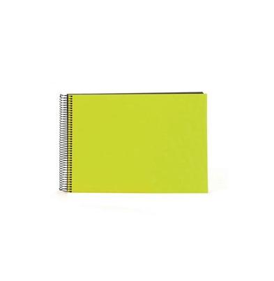 Album de Pegar Goldbuch 24x17 cm Bella Vista Verde 40 hojas negras Espiral