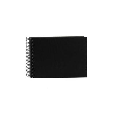 Album de Pegar - Goldbuch 24x17 cm  Bella Vista Negro 40 hojas negras Espiral | 20997