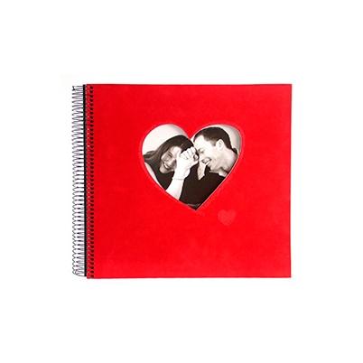 Album de Pegar - Goldbuch 29x28 Rosso 40 hojas negras Espiral   23766