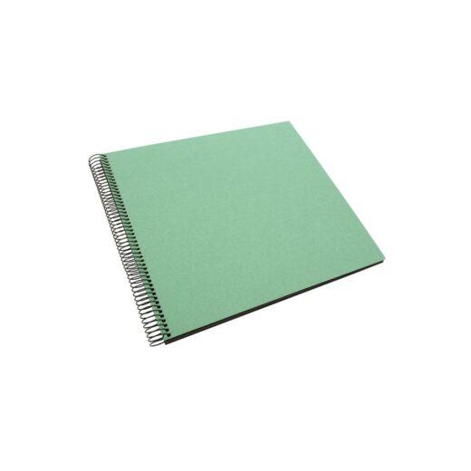 Album de Pegar - Goldbuch 35x30 Bellavista Mint 40 hojas negras Espiral | 25528