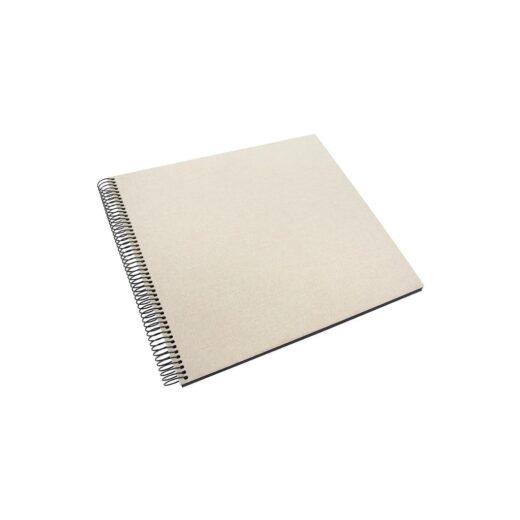 Album de Pegar - Goldbuch 35x30 Bellavista Gris Arcilla 40 hojas negras Espiral | 25523