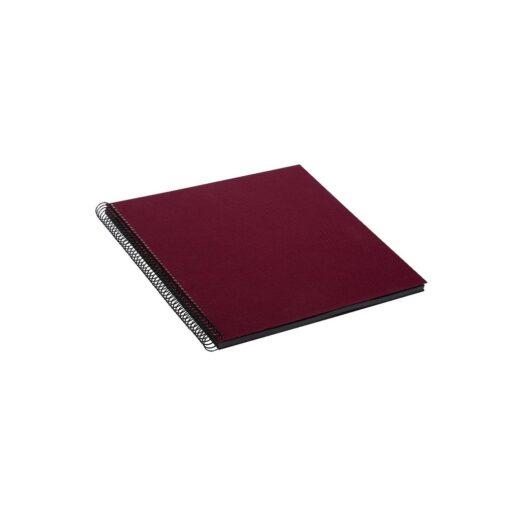 Album de Pegar - Goldbuch 35x30 Bellavista Burdeos 40 hojas negras Espiral | 25994