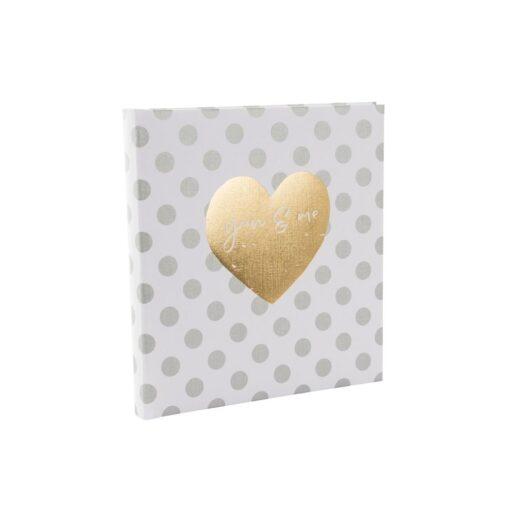 Album de Pegar - Goldbuch 30x31 You & Me Forever 60 hojas blancas | 27051