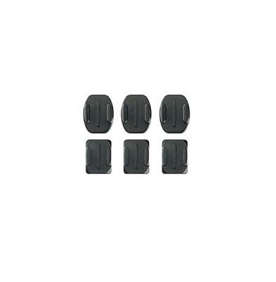Adhesivos - GoPro Adhesivo Juego Bases Planas y Curvadas (3 de cada) | AACFT-001