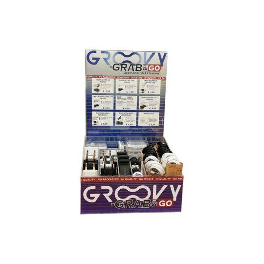 Groovy Display Expositor Grab&Go con 70 piezas