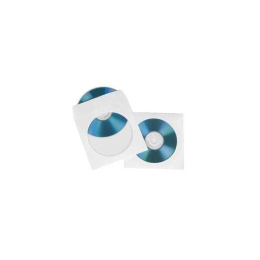 Sobre Cd/Dvd - Papel Blanco Hama 100 uni. | 51174