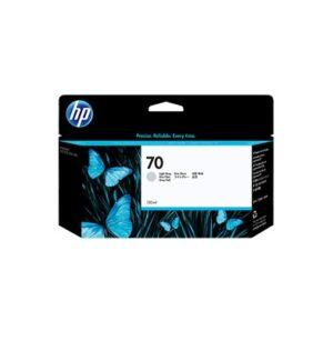 Cartucho Tinta - HP 70 Vivera Ink 130 ml Gris claro   C9451A