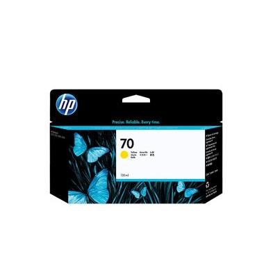 Cartucho Tinta - HP 70 Vivera Ink 130 ml Amarillo | C9454A