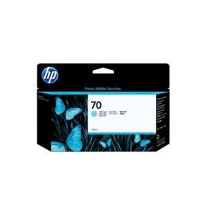 Cartucho Tinta - HP 70 Vivera Ink 130 ml Cian claro | C9390A