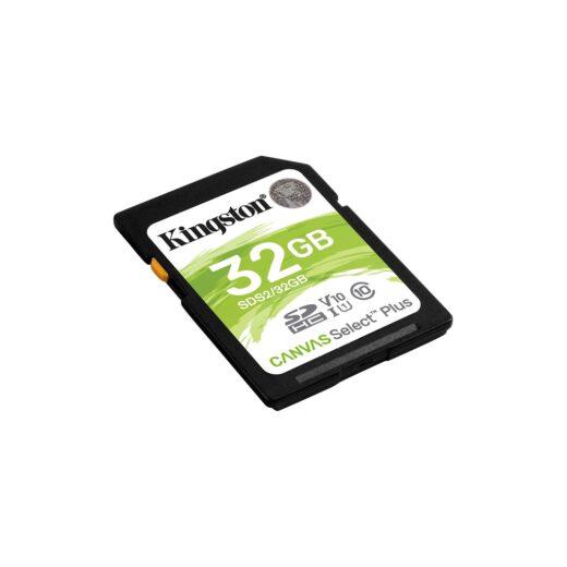 Tarjeta Memoria SDHC   32Gb Kingston C. Select Plus 100 Mb/s C10 UHS-I U1 | SDS2/32GB