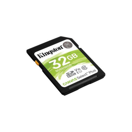 Kingston Tarjeta Memoria SDHC 32Gb Kingston C.Select Plus 100 Mb/s C10 UHS-I U1