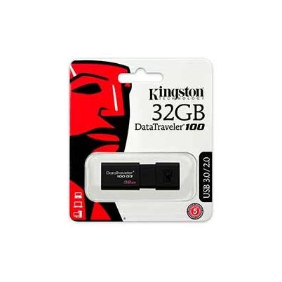 Pendrive Usb -  32Gb Kingston DT100G3 100Mb/s | DT100G3/32GB