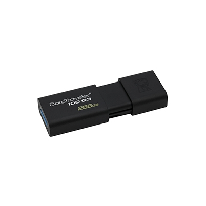 Pendrive Usb 256Gb Kingston DT100G3 130Mb/s | DT100G3/256GB