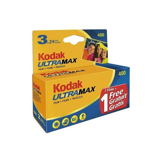 Película Negativo Color 35mm Kodak Ultra Max GC 400-24 Tripack | 6034052