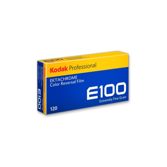 Kodak Ektachrome E100-120 Película Diapositiva Color Pack 5 unidades