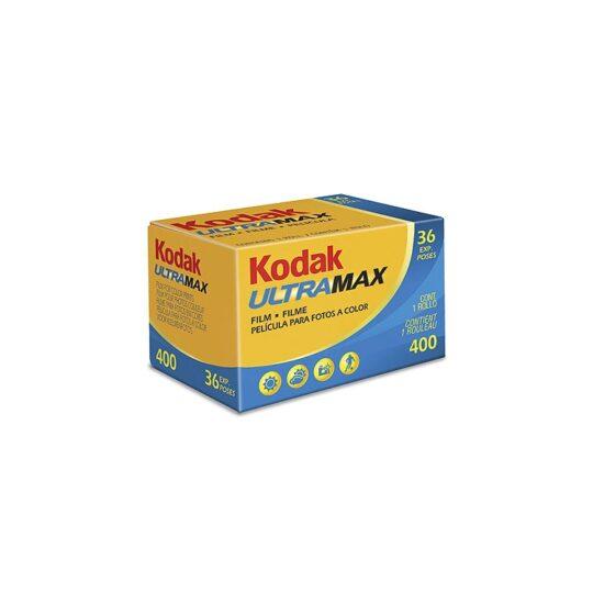Kodak Ultra Max GC 400-36 Película Negativo Color