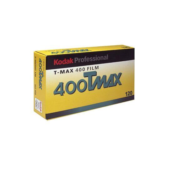 Kodak T-Max 400-120 Película Blanco y Negro TMY Pack 5 unidades