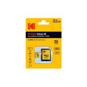 Tarjeta Memoria - SDHC Micro   32Gb Kodak 20 Mb/s C10 | K158352
