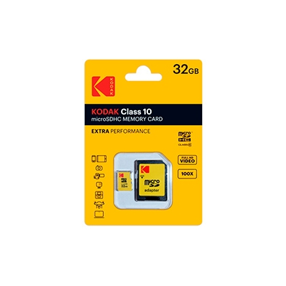 Kodak Tarjeta Memoria SDHC Micro   32Gb Kodak 20 Mb/s C10