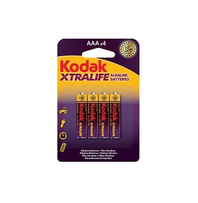 Kodak Xtralife Pila AAA/K3A Blister 4 u.