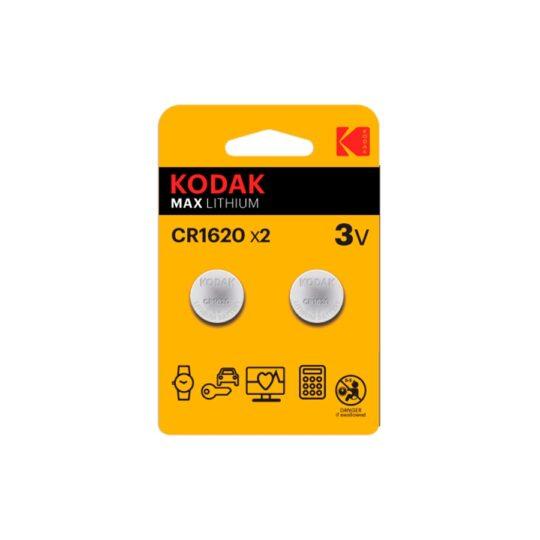 Kodak Max Pila CR1620 Blister 2 u.