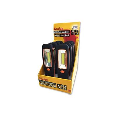 Linterna Kodak LED Multiusos 200 lumens Display 8 unidades