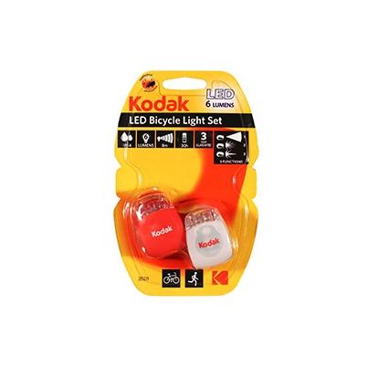 Linterna Frontal Kodak LED para Bicicletas, Blíster 2 unidades | 30414228