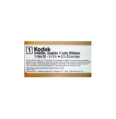 Ribbon Kodak D4600L Duplex 20x30 (250 hojas Doble Cara)