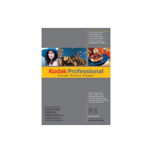 Papel Inkjet - Photo 255 grs. Kodak Professional Photo Paper Brillo   KPROA4G