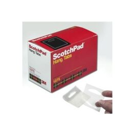 Gancho Adhesivo 3M Scotch Hang Tabs 1075 (500 unid)